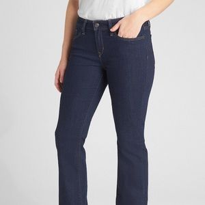 Gap Long And Lean Dark Wash Jeans